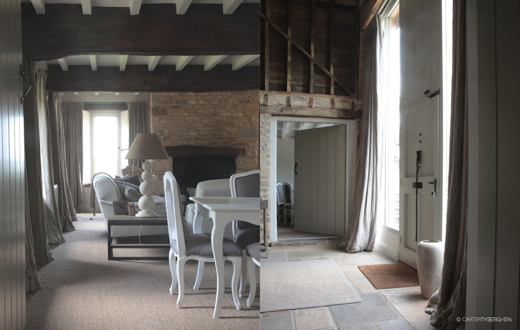 gloucestershire barn conversion residential interior