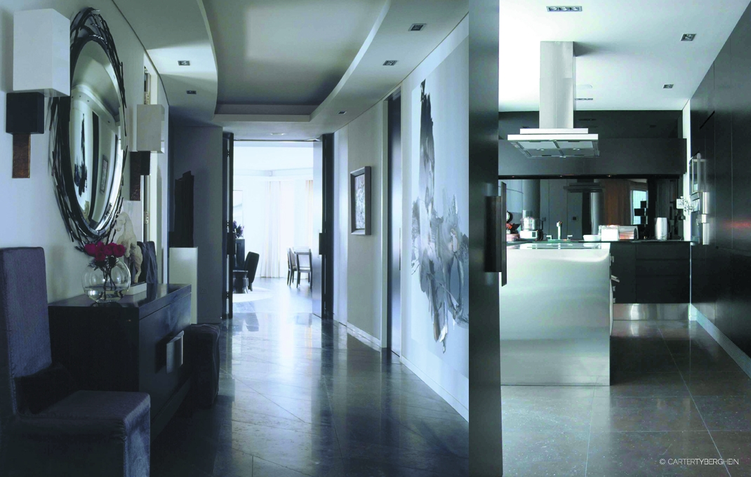 Penthouse apartment london residential interior design for Residential interior decorator