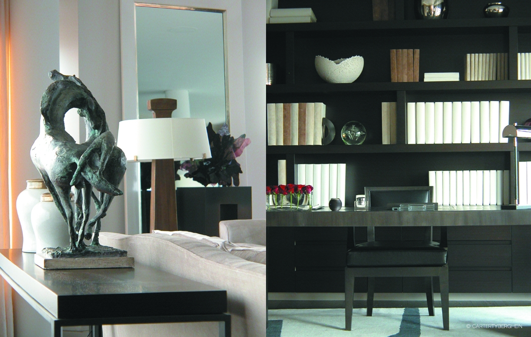 Penthouse apartment london residential interior design for Residential interior designers london