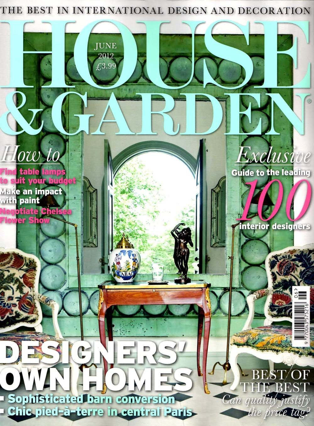 house and garden leading 100 interior designers carter
