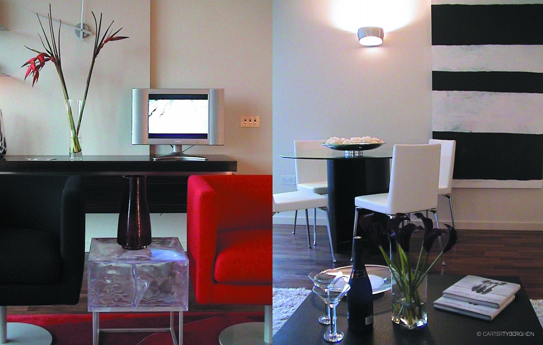 Marketing Suite, New Providence Wharf, Ballymore